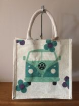 Medium Jute Campervan  Bag